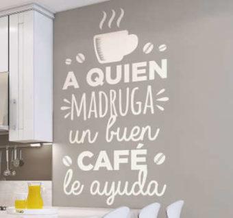 vinilo lema cocina cafe