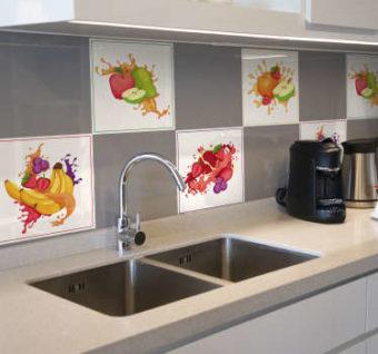 vinilos cocina azulejos