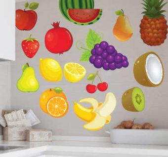 vinilos cocina frutas