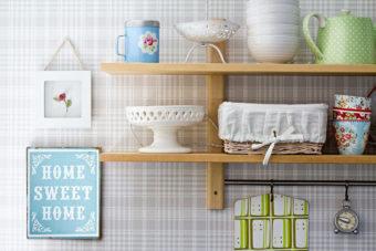 Papel pintado en la cocina, una tendencia llena de ventajas