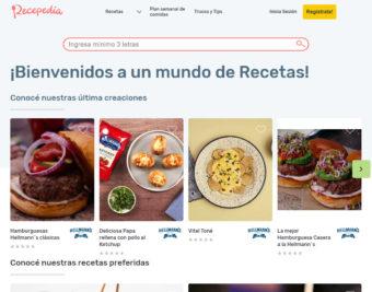 Recepedia, un mundo de recetas